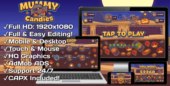 Traffic Command - HTML5 Game + Mobile Version! (Building 3 | Construction 2 | Capx) - 24