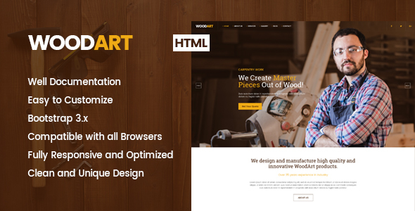 Carpenter HTML Template