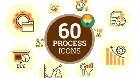 industrial process icons industrial