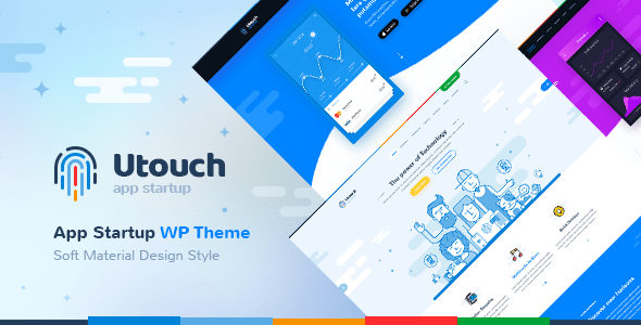 Utouch - Startup Business and Digital Technology WordPress Theme