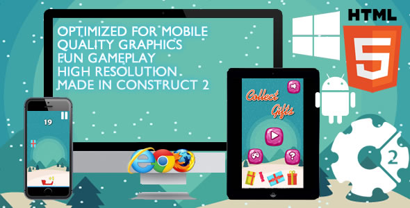 Collect Gifts Game - CodeCanyon Item for Sale