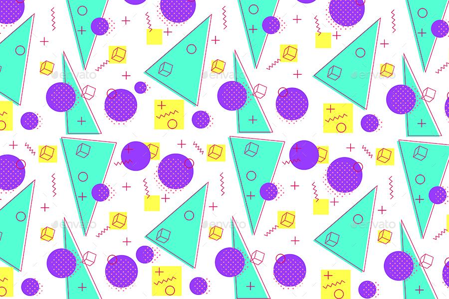 memphis patterns of geometric