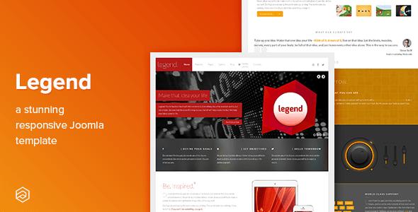 Legend - Business Responsive Joomla Template