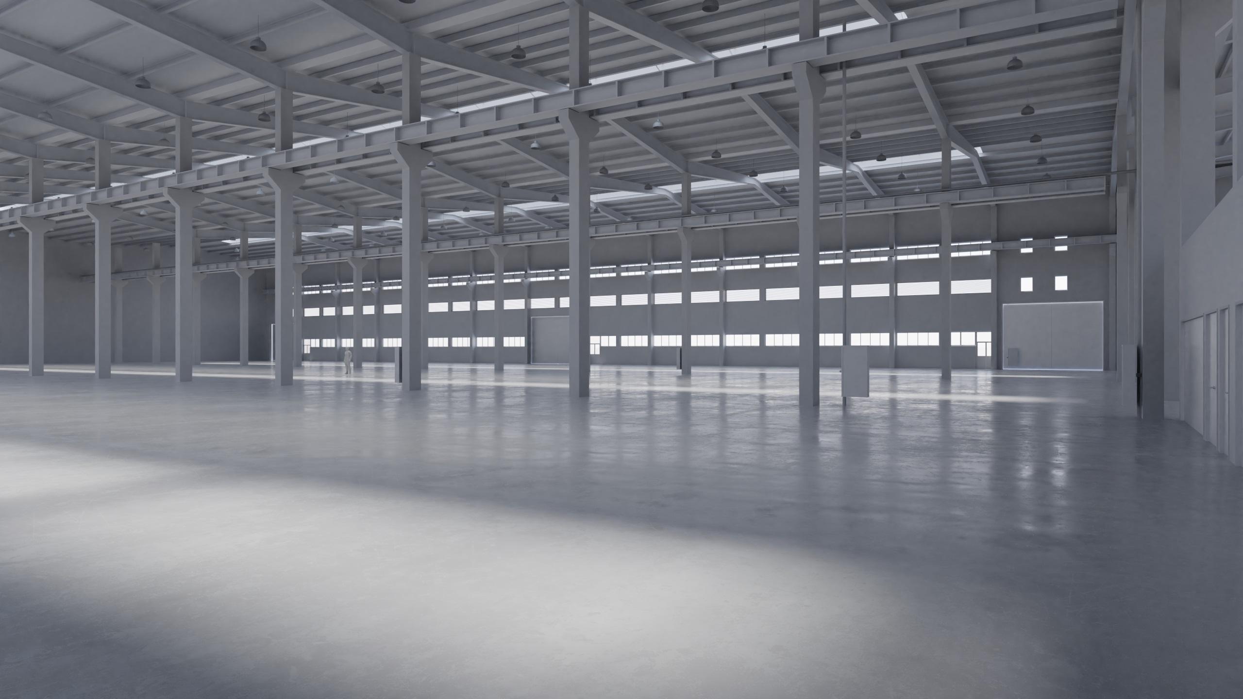 Factory Hall Interior 5 by Pytorator  3DOcean