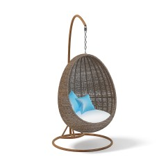 Hanging Chair Cart Tall Back Chairs Wicker 3d Model By Cgaxis 3docean