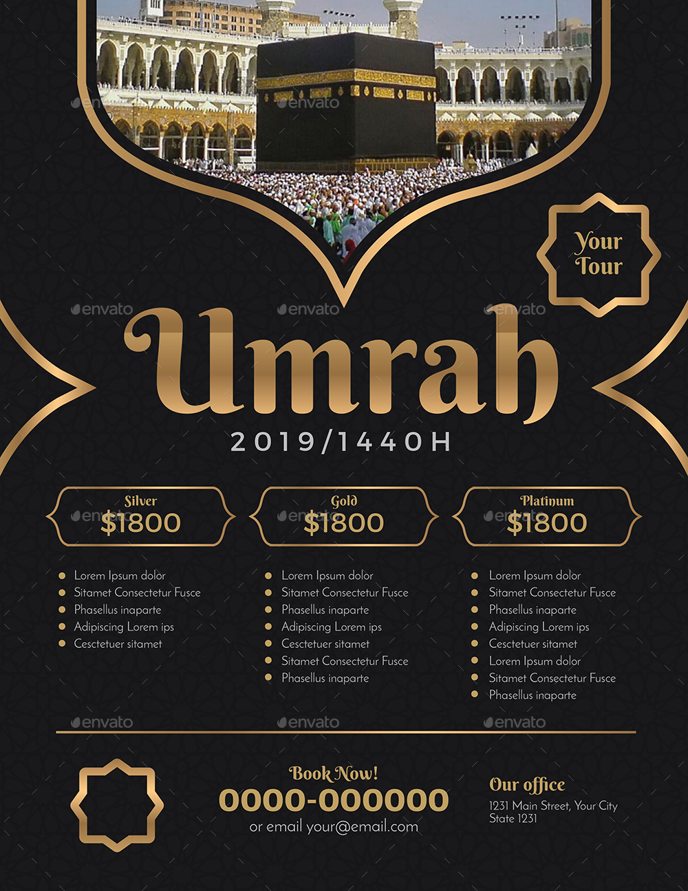 UmrahHajj Flyer by Guuver  GraphicRiver