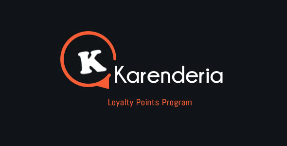 Karenderia Loyalty Points Program
