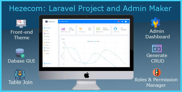 Hezecom: Laravel Project and Admin Maker
