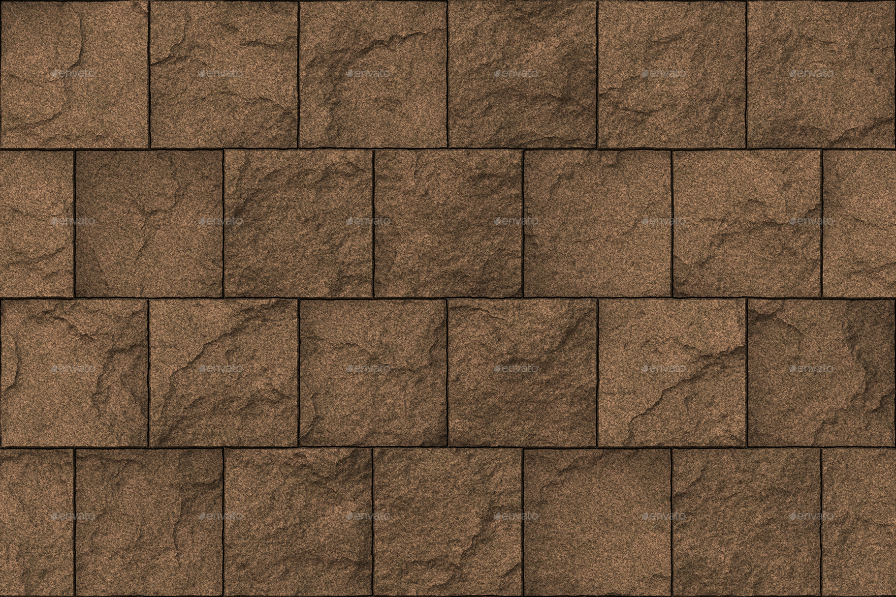 10 stone block wall