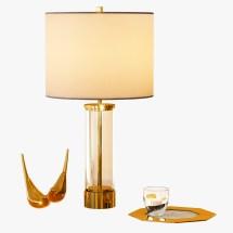 Acrylic Column Table Lamp Jockermax3ddd 3docean