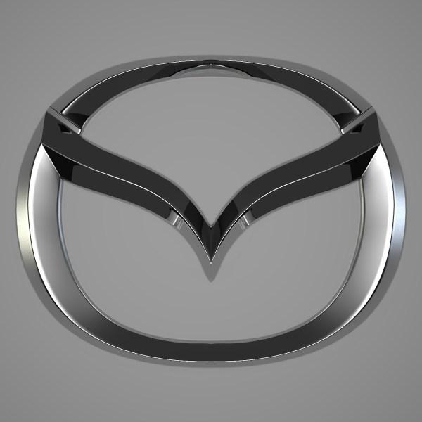 Mazda Logo Reticulum 3docean