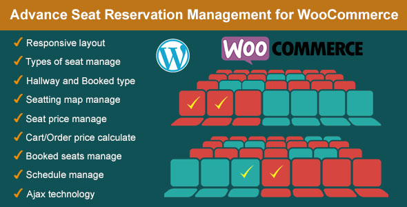 Advance Seat Reservation Management for WooCommerce - X Theme