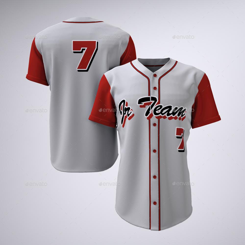 Download Baseball Team Jerseys and Uniform Mock-up by Sanchi477 ...