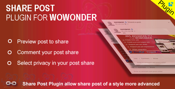 Plugin Share For Wowonder
