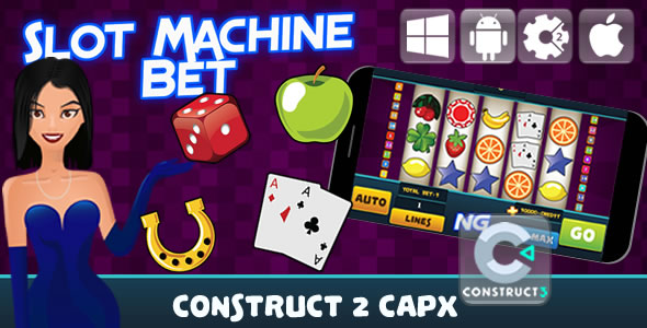 Slot Machine Bet - Html5 Game (Capx) - CodeCanyon Item for Sale