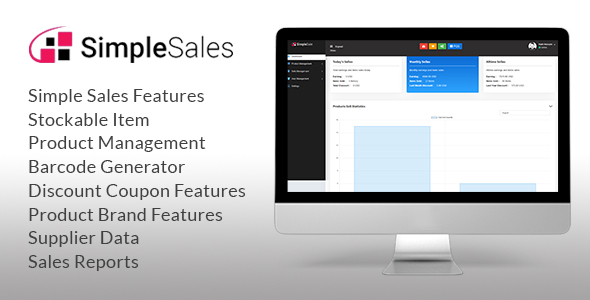 Simple sales - Inventory System & POS