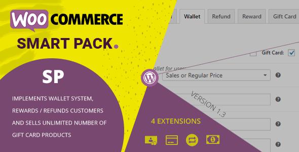 WooCommerce Smart Pack - Gift Card, Wallet, Refund & Reward