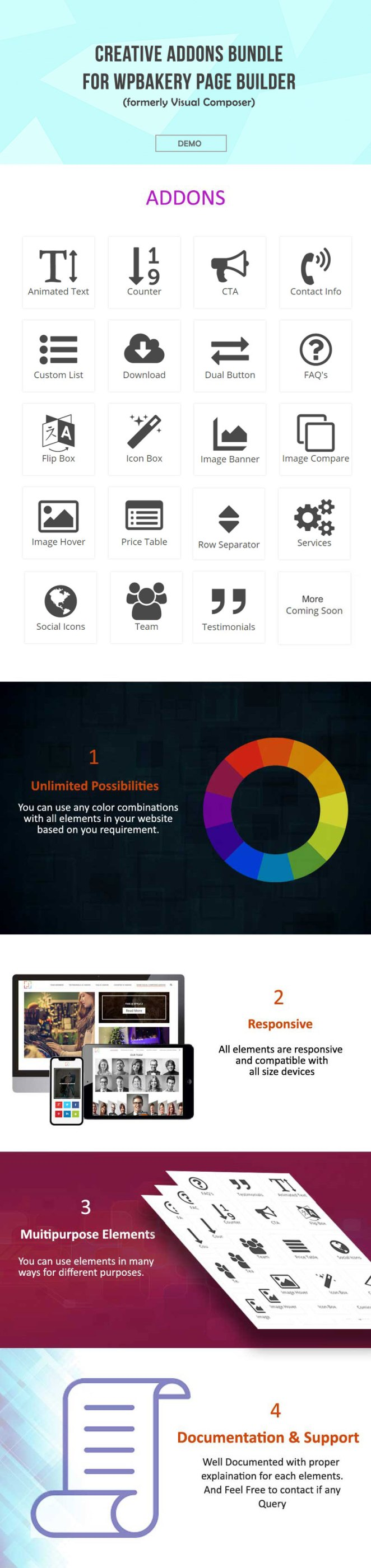 Creative Addons Bundle For WPBakery Page Builder - 1