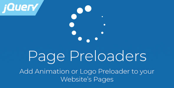 Page Preloaders - jQuery Plugin with Preload Animations