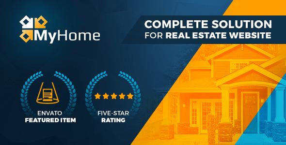 Real Estate WordPress Theme | MyHome