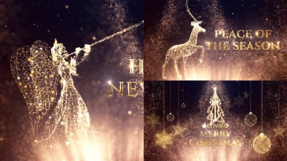 Magical Fairy Dust Christmas Greetings