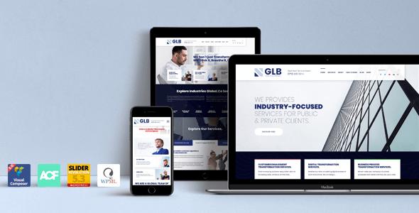Glb - Responsive Multi-purpose WordPress Theme version 1.0.19