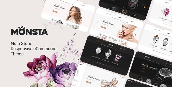 Monsta - Jewelry Theme for WooCommerce WordPress version 1.0.7