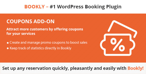 Bookly Coupons (Add-on) version 2.6