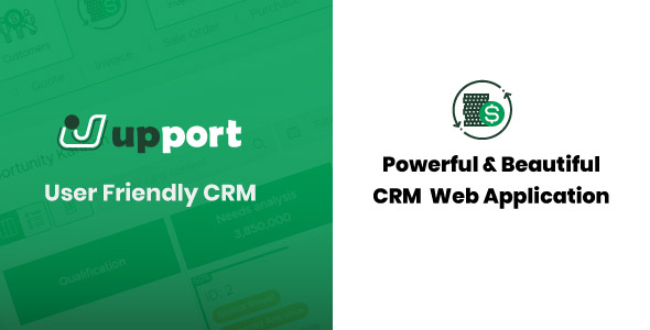 Upport CRM - Laravel Open Source CRM Web Application