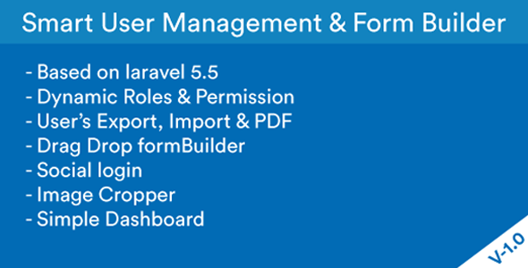 Smart User Management & Form Builder