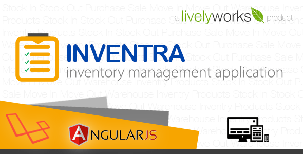 Inventra - Inventory Management Application