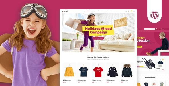 Uneno - Kids Clothing & Toys Store WooCommerce Theme version 1.0.10