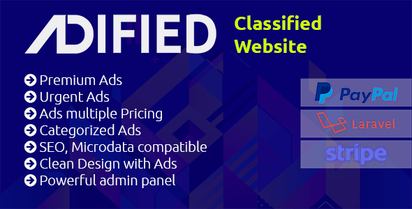 Adified - Flexible, Powerful Premium PHP Classified Application