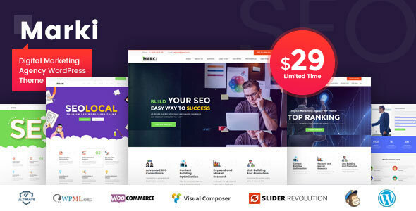 Marki - Digital Marketing Agency WordPress Theme version 1.6