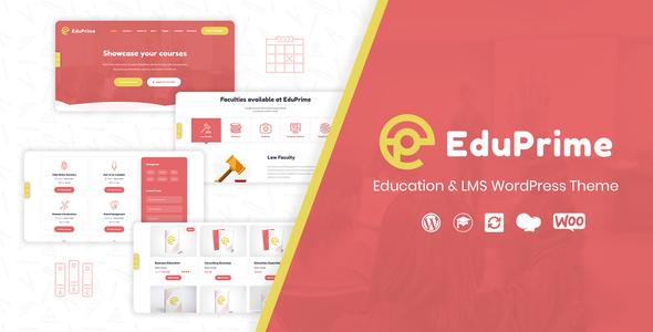 EduPrime - Education & LMS WordPress Theme version 1.1.1