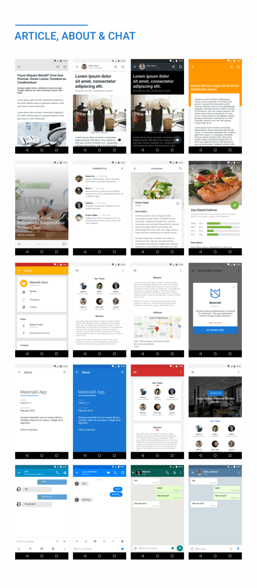 MaterialX - Android Material Design UI Components 2.6 - 48