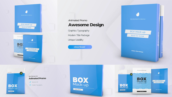 Download Box Product Pack Mockup - Box Software Mock-up Cover ...