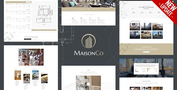MaisonCo - Single Property WordPress Theme version 1.5.0