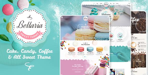 Bellaria - a Delicious Cakes and Bakery WordPress Theme version 1.1.0