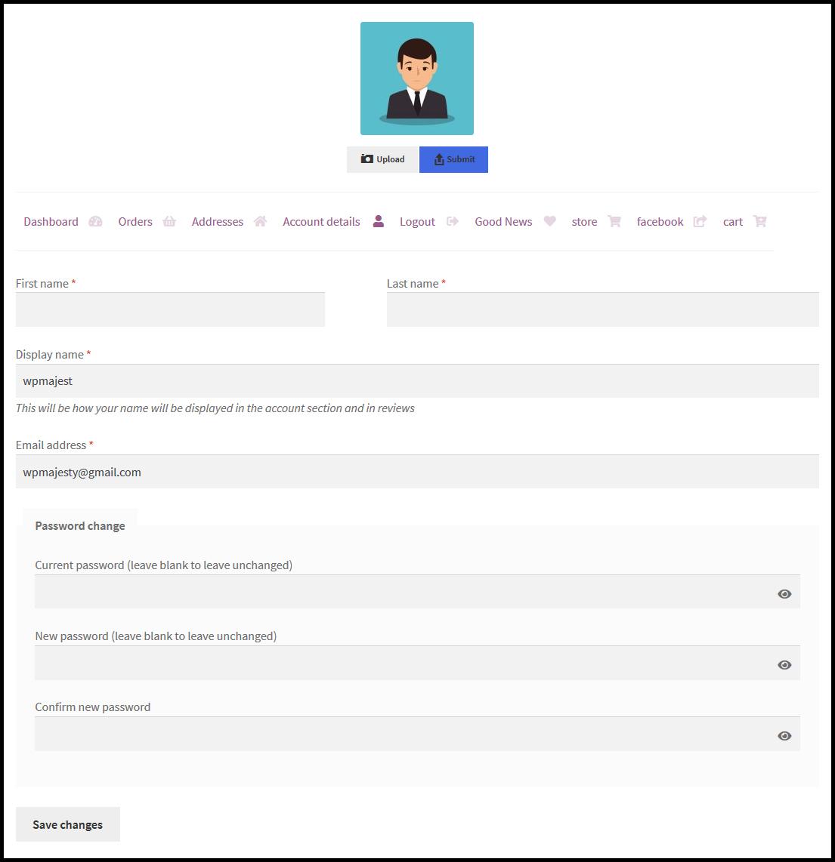 WooCommerce Customize My Account Page Plugin by WPMajesty