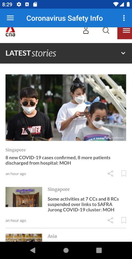 CoronaVirus (COVID-19) Safety Guide - Multi Language + Real-time ...