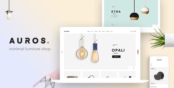 Auros - Furniture Elementor WooCommerce Theme version 1.8.0
