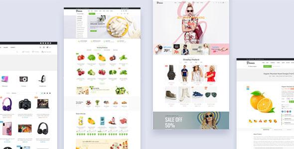 Bionas - eCommerce Marketplace Prestashop Theme