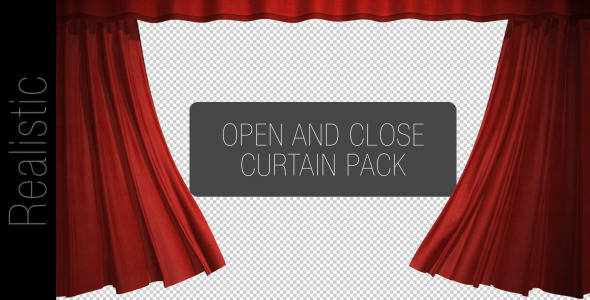 curtain open and close