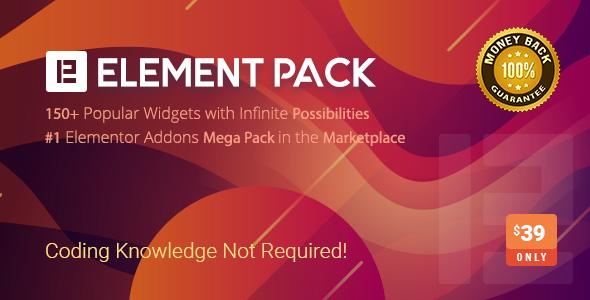 Element Pack - Addon for Elementor Page Builder WordPress Plugin version 5.4.0