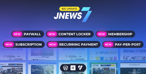 JNews - WordPress Newspaper Magazine Blog AMP Theme version 7.1.3