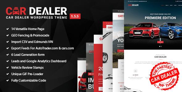 Car Dealer -  Automotive Responsive WordPress Theme version 1.5.6