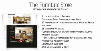 The Furniture Store - WordPress eCommerce Shop - ThemeForest Item for Sale