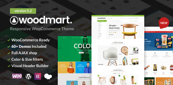 WoodMart - Responsive WooCommerce WordPress Theme version 5.2.0