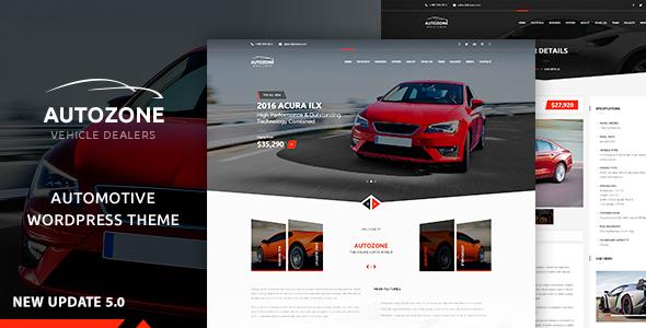 Autozone - Auto Dealer & Car Rental Theme version 5.2.4